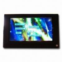 Buy cheap 7-inch LCD Advertising Display with Multi-layered Touch, Built-in Memory and Compact Flash Card from wholesalers