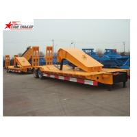 Buy cheap Stable Loading Heavy Duty Semi Trailers Leaf Spring Suspension With Anti - Slip Strip from wholesalers