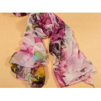 Buy cheap Ladies 2013 new Fashion silk Scarf pink and red polyester infinity scarves for women from wholesalers