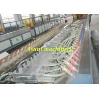 Conical double screw  PP PE  WPC Extrusion Machine for board / floor Manufactures