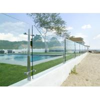 Buy cheap China suppliers stainless steel flat post glass railing from wholesalers