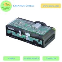 Buy cheap motorized card reader/writer with Sam slot RS232 / USB interface ATM EMV card reader from wholesalers