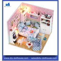 Buy cheap 3D puzzle building diy wooden dollhouse miniature toy M003 from wholesalers