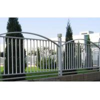 Buy cheap durability wrought iron fencing steel ornamental fence supplier from wholesalers