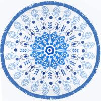 round beach towel stocks without MOQ low price wholesale round beach towels Manufactures