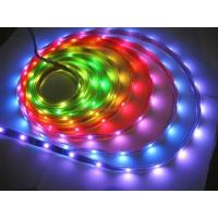 Buy cheap Custom SMD 5050 dmx rgb high output led strip lighting waterproof 14.4 W for decorate from wholesalers
