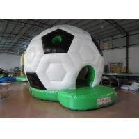 Buy cheap Waterproof PVC Kids Inflatable Bounce House / Classic Inflatable Football Bouncy Castle from wholesalers