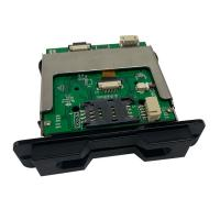 Buy cheap RFID Contactless Card Reader Writer RS232 USB Interface Partial Insertion from wholesalers