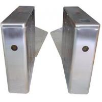 Buy cheap ID Card High Capability Dual Way Stainless Retractable Flap Barrier for Bus Station RS485 from wholesalers