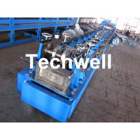 Buy cheap Steel Structure C Shaped Purlin Roll Forming Machine for Making C Purlin Profile by Chain Drive from wholesalers