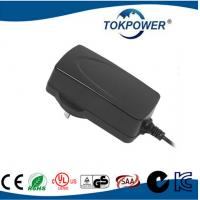 China 1.5A Modem Power Adapter 24V Switched Power Supply Wall Charger International Power Plugs on sale