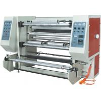 China Aluminum Foil Automatic Slitting Machine 700mm Width With Rim Charge Feeding on sale