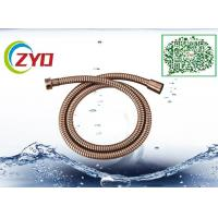 Buy cheap Dark Copper Flexible Shower Hose For Bathtub Brass Screw Bronze Plated from wholesalers
