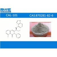 Buy cheap Customer Synthesis high assay CAL-101 Antineoplastic Drugs CAS 870281-82-6 from wholesalers