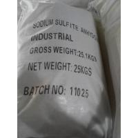 Wholesale Crystalline Dry Powder Sodium Sulphite Anhydrous, Sodium Sulfite Water Treatment from china suppliers