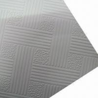Wholesale PVC Gypsum Ceiling Tiles, Comes in Various Sizes from china suppliers
