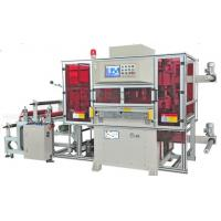 Large Semi Automatic Paper Roll Flat Bed Die Cutting Machine For Hydraulic Press Manufactures