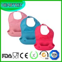 Buy cheap Easily Wipes Clean Fast Drying Waterproof silicone Baby  waterproof Silicone Baby Bib from wholesalers