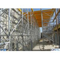 Buy cheap Hot Galvanized 60 Ringlock Scaffolding System , Scaffold Support Systems from wholesalers