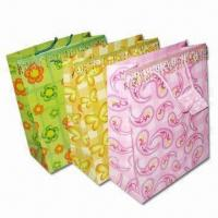 Buy cheap Paper Bag, Suitable for Shopping, Promotional Gift and Advertising from wholesalers