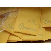 Buy cheap Yellow Kraft Bubble Mailer ,Kraft Paper Bubble Padded Mailers from wholesalers