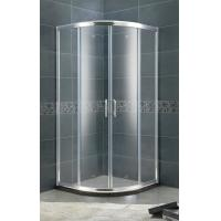 Buy cheap Aluminum Alloy Setor Shower Stalls 6 MM Clear / Forsted Tempered Glass With Bright Silver Profiles from wholesalers