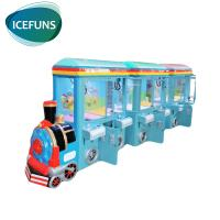 Buy cheap 6 players train crane claw machine coin operated vending game machine for sale from wholesalers