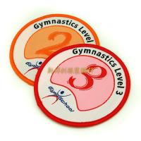 Wholesale 100% Polyester Multi Colored Custom Woven Patches For School Uniform Decor from china suppliers