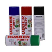 Buy cheap Aerosol Rubber Spray Paint / Plastic Dip Spray Fast Drying Anti -  Corrosion from wholesalers
