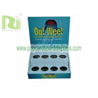Medicine or Cosmetic  Cardboard Counter Displays storage boxes with matt lamination