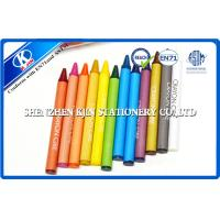 Buy cheap Customized Non Toxic Crayons , Drawing Wrapped eco friendly crayons from wholesalers