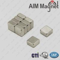 Buy cheap 50 x 25 x 12.5 mm nefeb magnet from wholesalers