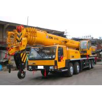 Buy cheap Yellow XCMG Truck Mounted Crane For Mining Area  / 35 Ton Truck Crane from wholesalers