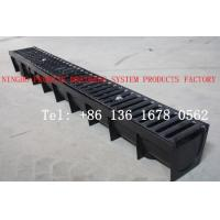 Buy cheap Trench Drain With Ductile Iron Grating from wholesalers
