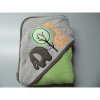 Buy cheap cotton fabric cute baby hooded bath towels from wholesalers