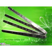Buy cheap Lead free solder bar from wholesalers