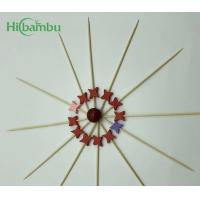 Buy cheap Cheap price customized Promotional disposable decoration fruit skewers bamboo wooden toothpick stocked from wholesalers