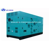 Buy cheap 400kVA 3 Phase 4 Wire Water Cooling Diesel Generator Set By CE Certified from wholesalers