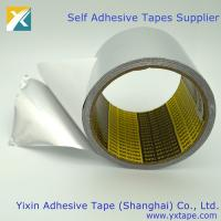 Buy cheap high heat foil tape high temp metal tape  silver tape for ducts  aluminum hvac tape   aluminium foil insulation tape from wholesalers