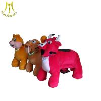 Buy cheap Hansel  latest zippy battery animal scooters in mall and fast profits plush riding animals in guangzhou from wholesalers