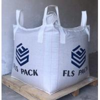 Buy cheap FIBC Virgin PP Big Bulk Bag Heavy Duty Circular / Tubular Shaped For Storage from wholesalers
