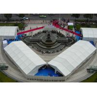 Buy cheap 1000 People Large Outdoor Canopy Tent , White Party Tent With Anti UV PVC from wholesalers