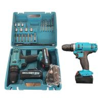 Buy cheap 32Nm 21V Cordless Drill Tool Set 30min Fast Charger 2 Batteries 2000mAh Capacity from wholesalers