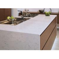 Buy cheap Luxury Kitchen Natural Quartz Countertops With Sinks Common Sizes from wholesalers