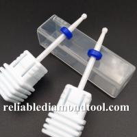 Teeth Whitening / Manicures Ceramic Nail Drill Bit With Shank Diameter 2.3mm Manufactures