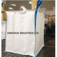 Buy cheap 4-Panel 850KGS sift-proofing baffle Polypropylene Bulk Bags for starch product