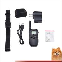 China 300M Stop Dog Barking Collar LCD Mode Display Remote Control Pet Trainer Kit on sale