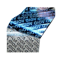 Buy cheap Customize Logo Die Cut Tamper Evident Security Labels from wholesalers