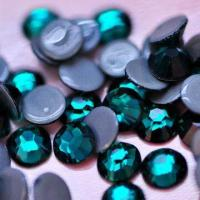 Buy cheap Hot Fix Rhinestone, Emerald, Top Quality from wholesalers