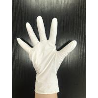 Buy cheap Latex Free Non Sterile White Nitrile Powder Free Gloves Durable For Mechanic from wholesalers